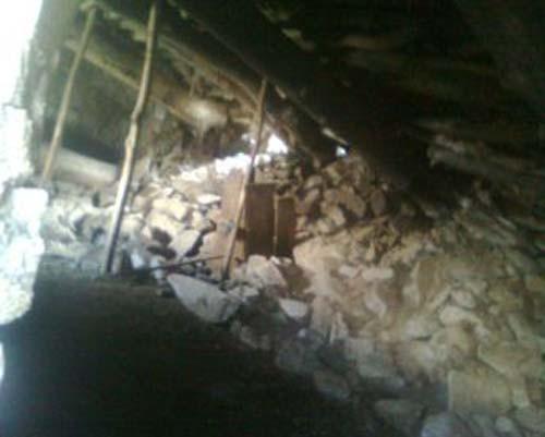 Gaziantep'te Ahır Çökmesi 1