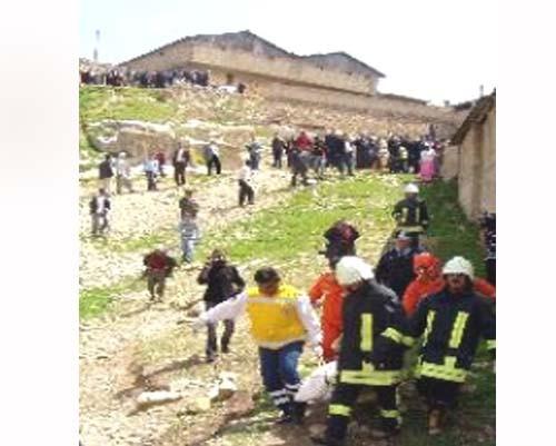 Gaziantep'te Ahır Çökmesi 5