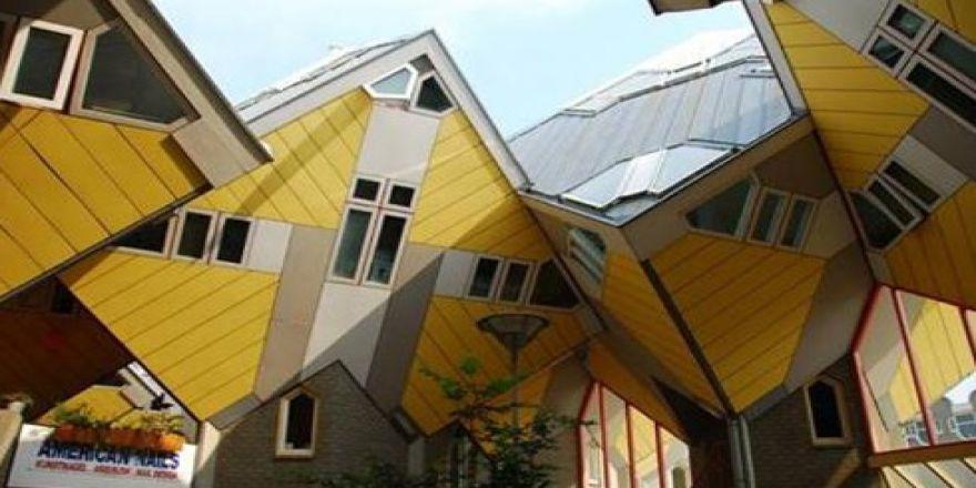 Dünyanın en ilginç binaları..