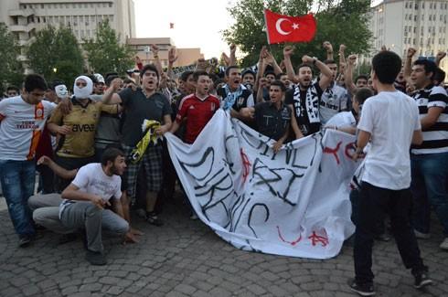 Gaziantep'ten Gezi Parkı için coşkulu destek 1