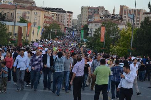 Gaziantep'ten Gezi Parkı için coşkulu destek 6