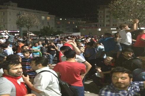 Kırkayak Parkı'nda Gezi Parkı için destek 2