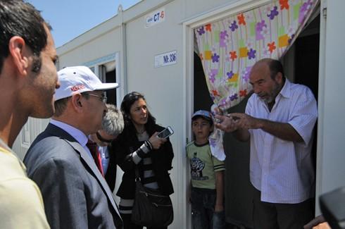 Mülteci değil Hilton kampı 9