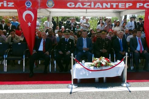 Gaziantep'te 194 polis adayı mezun oldu 1