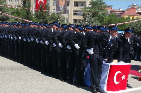 Gaziantep'te 194 polis adayı mezun oldu 2