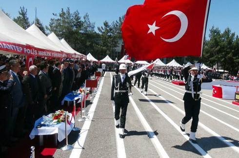 Gaziantep'te 194 polis adayı mezun oldu 6