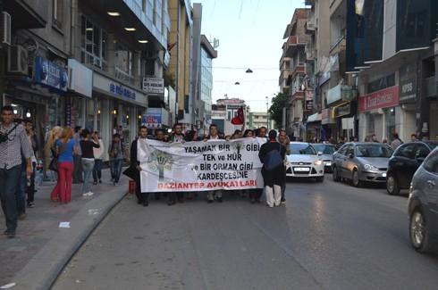 Avukatlardan protestoculara destek  16