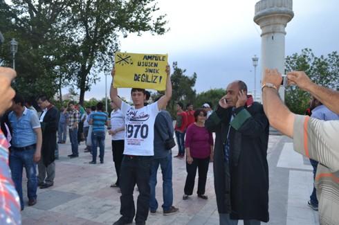 Avukatlardan protestoculara destek  8