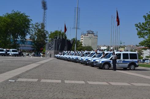Polis'e araç takviyesi 4