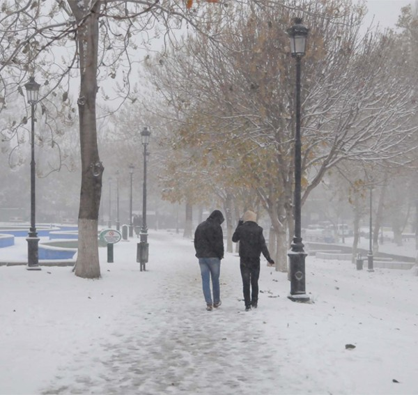 Gaziantep'ten kar manzaraları 1