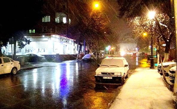 Gaziantep'ten kar manzaraları 17