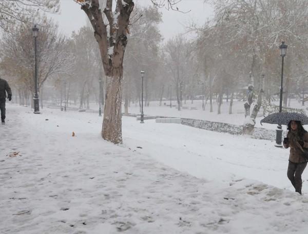Gaziantep'ten kar manzaraları 2