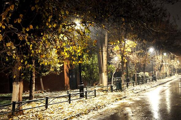 Gaziantep'ten kar manzaraları 22