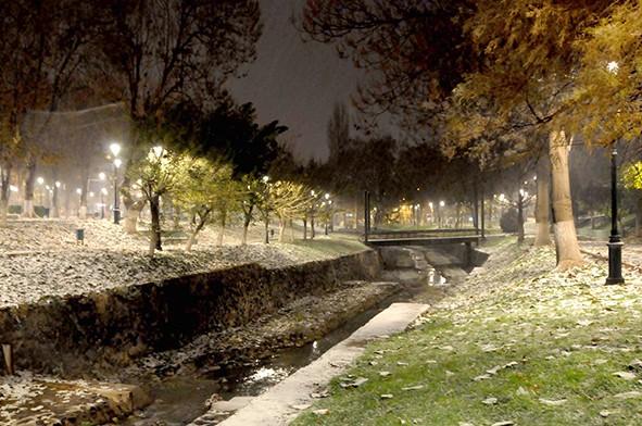 Gaziantep'ten kar manzaraları 23