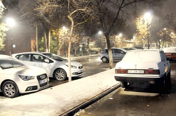 Gaziantep'ten kar manzaraları 24