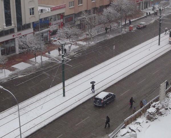 Gaziantep'ten kar manzaraları 9