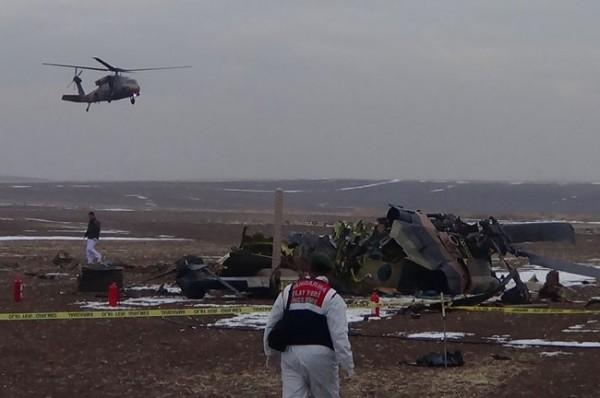 Helikopter düştü: 4 Şehit 10