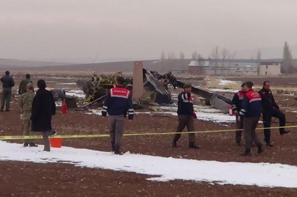 Helikopter düştü: 4 Şehit 13
