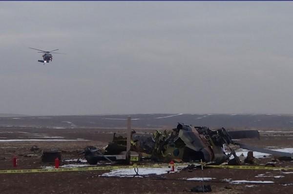 Helikopter düştü: 4 Şehit 9