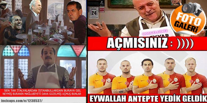 Gaziantepspor - Galatasaray CAPS'leri