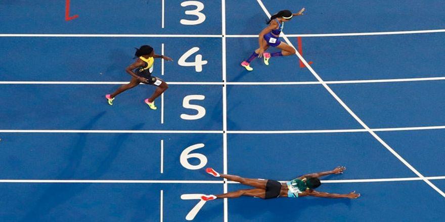 Olimpiyat Oyunları'nda tarihi olay