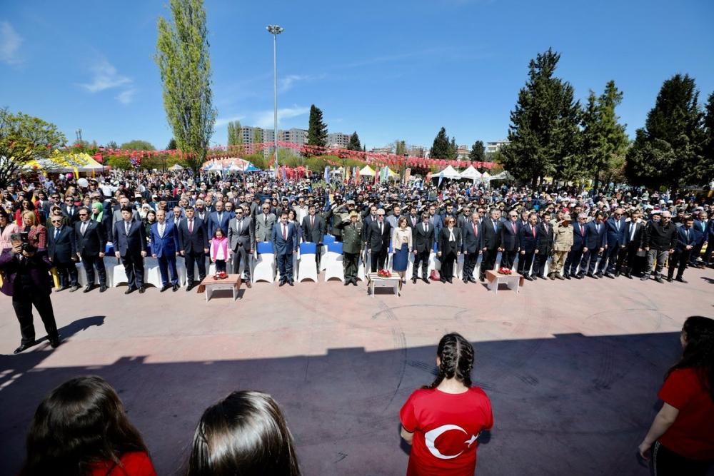 Gaziantep'te 23 Nisan coşkusu 16