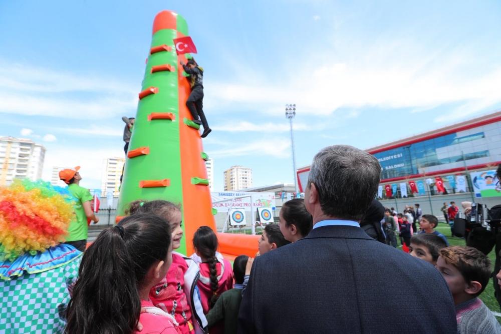 Gaziantep'te 23 Nisan coşkusu 4