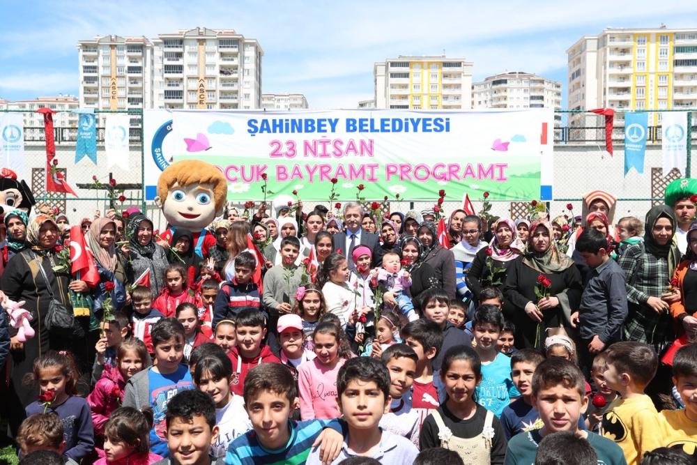 Gaziantep'te 23 Nisan coşkusu 6