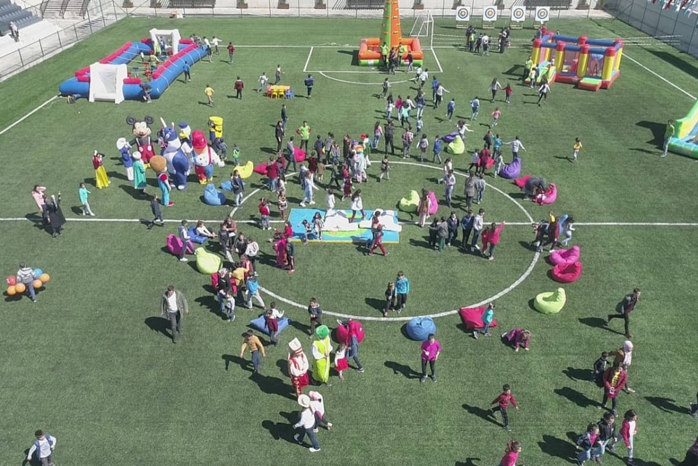 Gaziantep'te 23 Nisan coşkusu 8