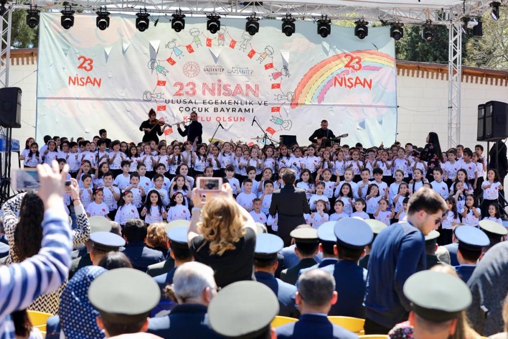 Gaziantep'te 23 Nisan coşkusu 9