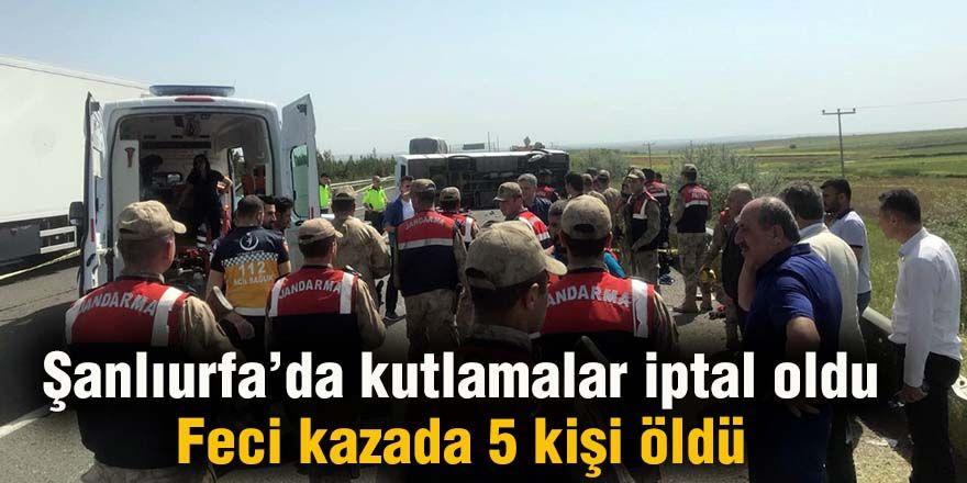 Feci kazada 5 kişi öldü