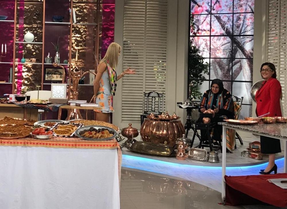 Antep mutfağı FOX TV'ye taşındı 1