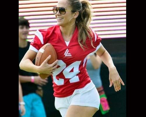 Jennifer Lopez futbolcu oldu 1