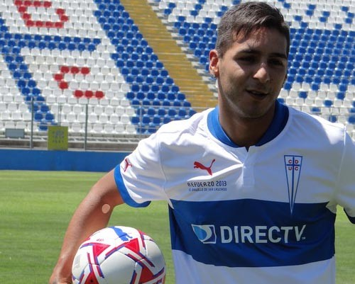 Sosa Club Deportivo Universidad Catoica'da 5