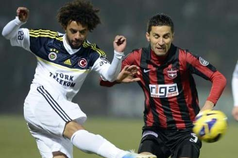 Gaziantepspor-Fenerbahçe (Süper Lig 19.Hafta) 13