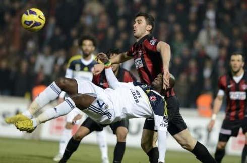 Gaziantepspor-Fenerbahçe (Süper Lig 19.Hafta) 5