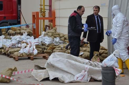 4.Organize Sanayi'de Galvaniz Fabrikası'nda patlama 12