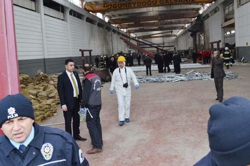 4.Organize Sanayi'de Galvaniz Fabrikası'nda patlama 17