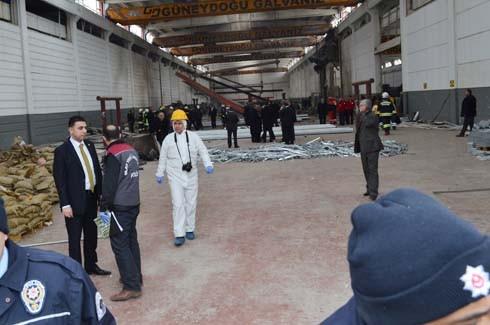 4.Organize Sanayi'de Galvaniz Fabrikası'nda patlama 18