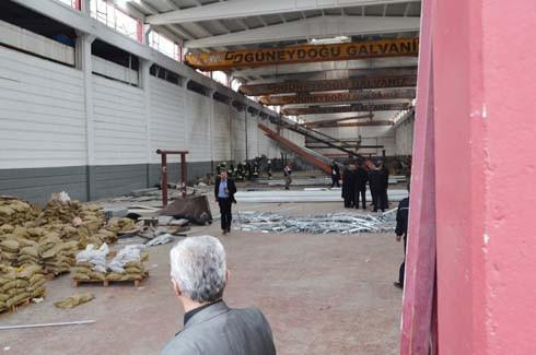 4.Organize Sanayi'de Galvaniz Fabrikası'nda patlama 20