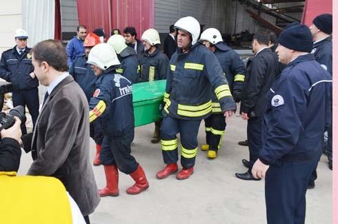4.Organize Sanayi'de Galvaniz Fabrikası'nda patlama 21