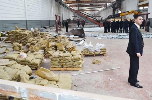 4.Organize Sanayi'de Galvaniz Fabrikası'nda patlama 24