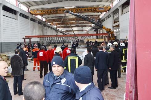 4.Organize Sanayi'de Galvaniz Fabrikası'nda patlama 26