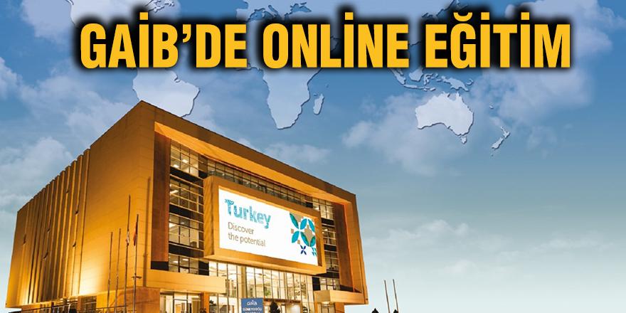 GAİB'de online eğitim