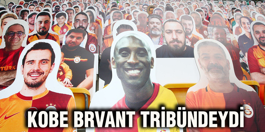 Kobe Brvant tribündeydi