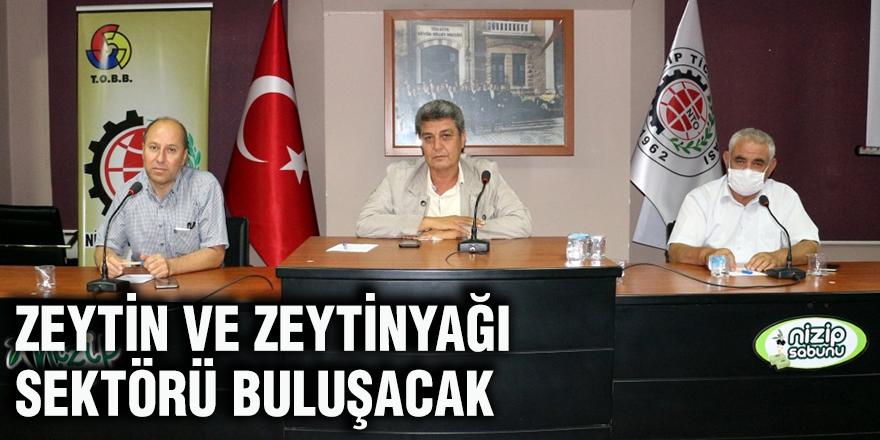 Zeytin ve Zeytinyağı Sektörü buluşacak