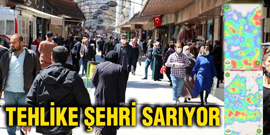 TEHLİKE ŞEHRİ SARIYOR