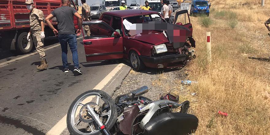 Nurdağı'nda korkutan kaza