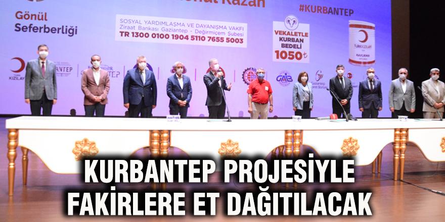 Kurbantep Projesiyle fakirlere et dağıtılacak