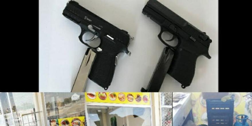 Silahlı baskına tutuklama